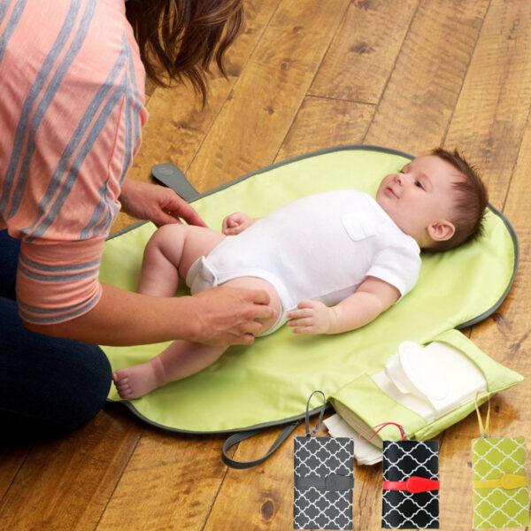Tapis à langer de voyage - Tapis confortable pour bébé