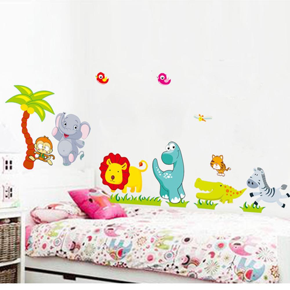 Stickers Muraux Chambre Bébé stickers muraux animaux chambre bébé - autocollant amovible