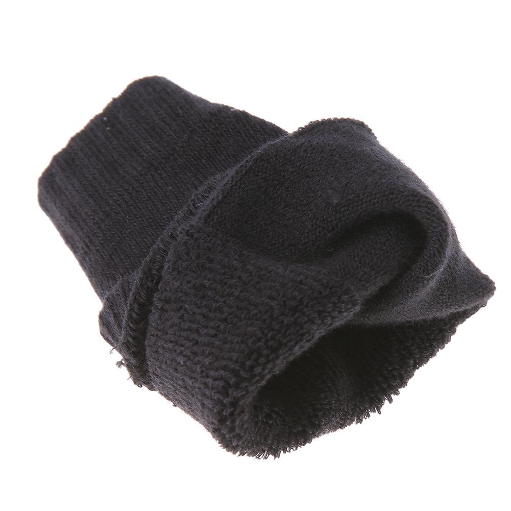 Genouillères en coton pour bébé couleur noir