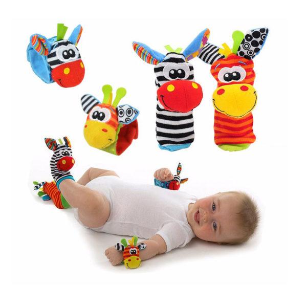 Doudous peluches éveil bébé