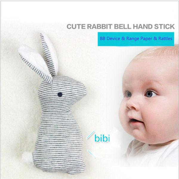 Doudou en forme de lapin pour bébé fille ou garçon