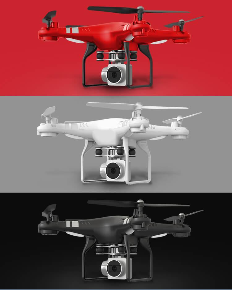 Drone SH5H couleur rouge, blanc ou noir
