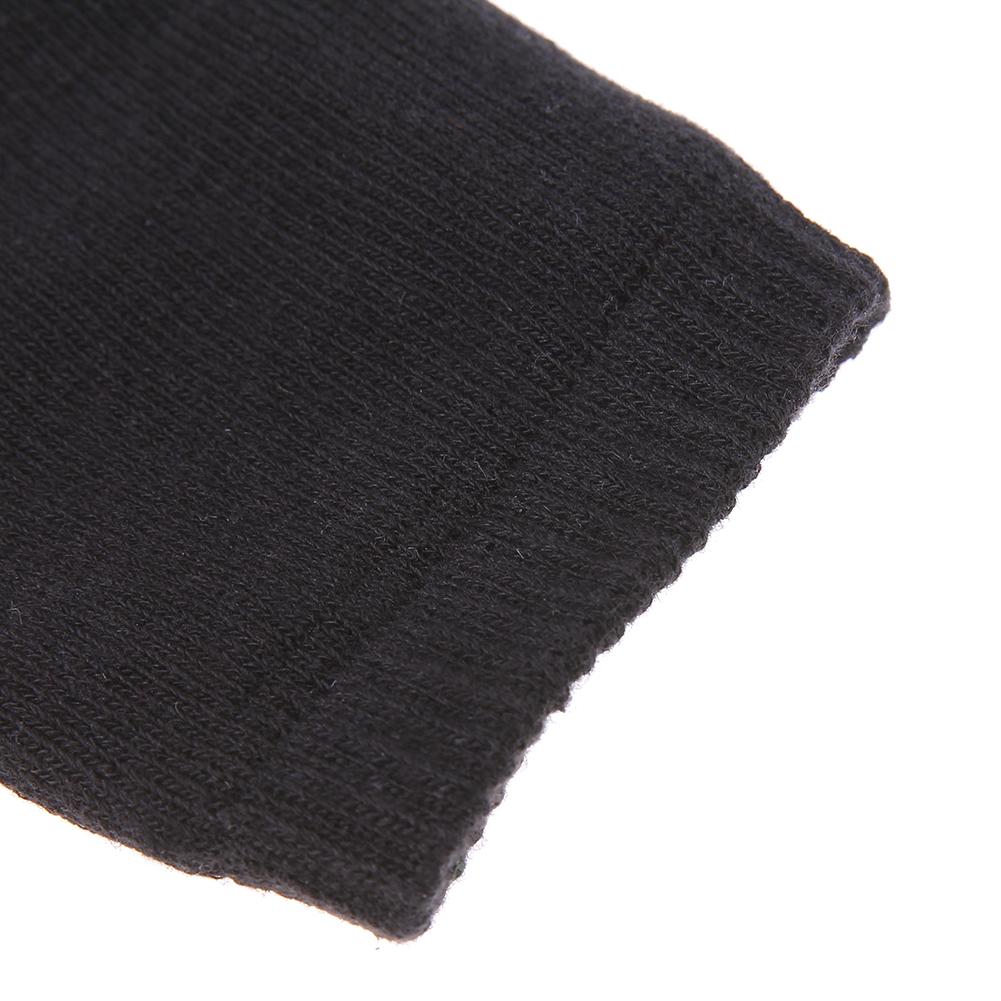 Genouillères bébé coton noir