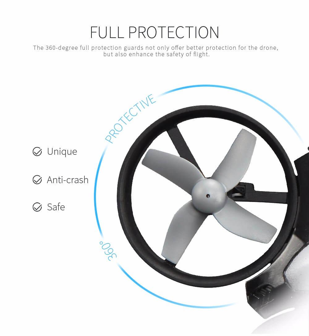 Mini drone simple et sécurisé pour enfants