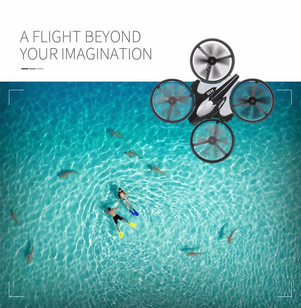 Mini drone pour faire des photos depuis le ciel