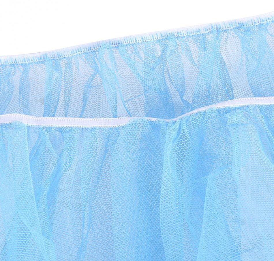 Moustiquaire couleur bleu