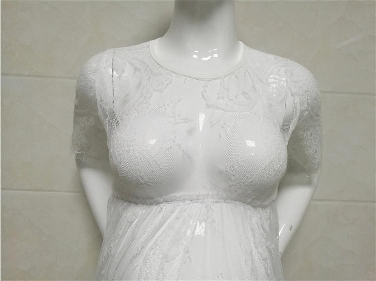 Robe de maternité au niveau du buste