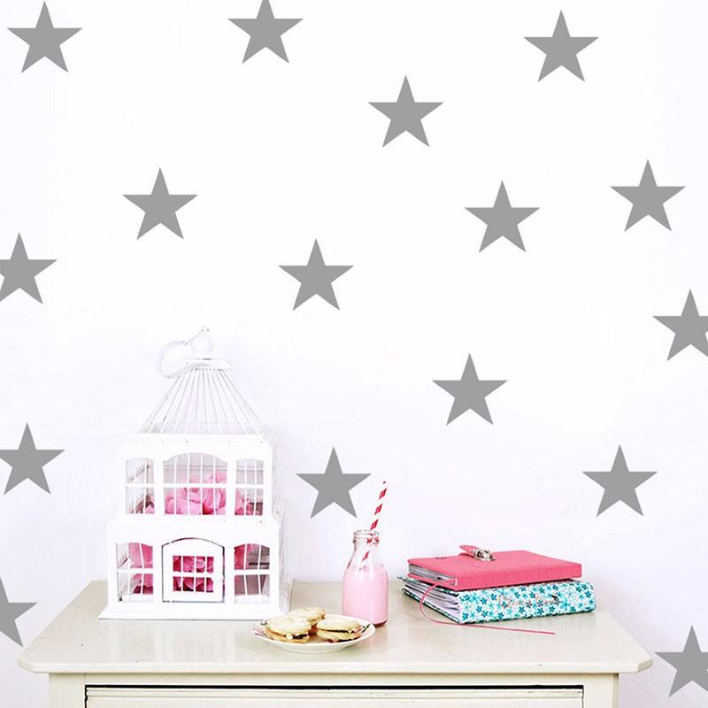 Stickers étoiles décoration chambre enfants fille ou garçon