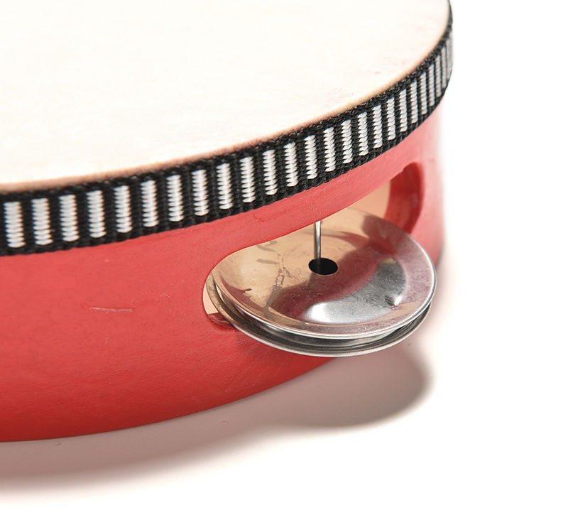 Qualité du tambourin rouge