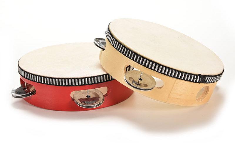 Instruments à percussion enfant - tambourins
