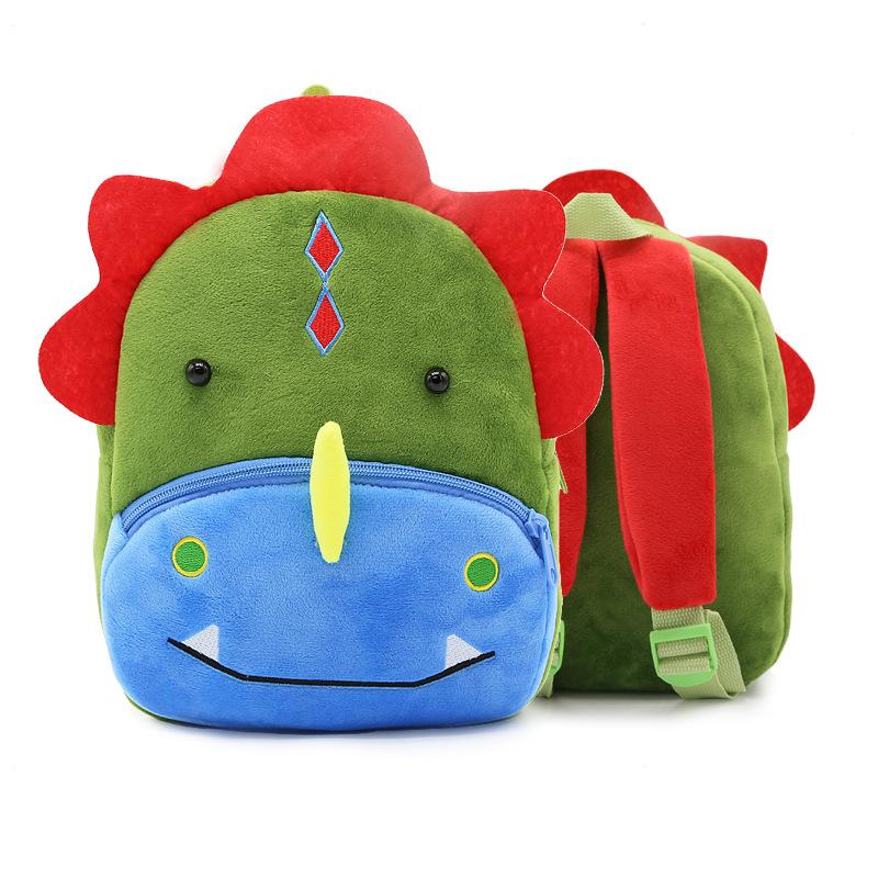 Sac à dos peluche dinosaure pour enfant