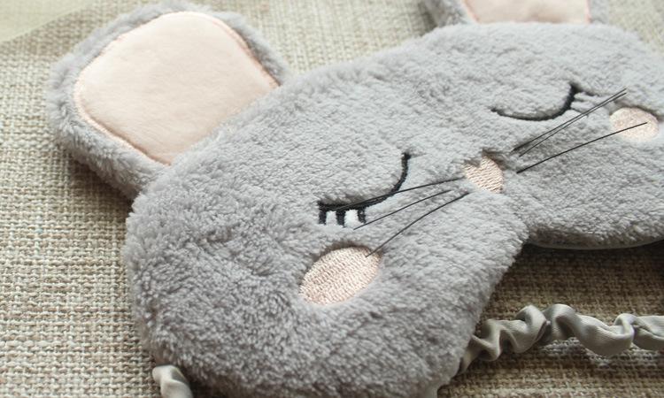 Masque de sommeil souris pour se reposer les yeux la nuit