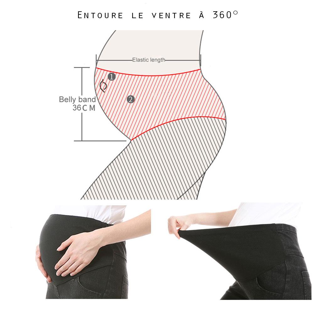 Entoure le ventre à 360°