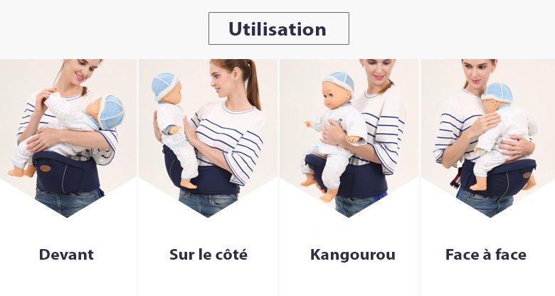 Comment utiliser le Porte-bébé hipseat
