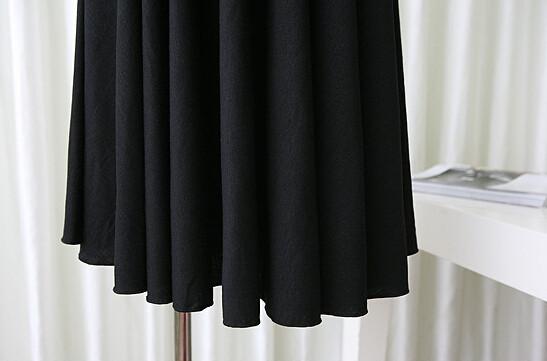 Robe courte pour l'été - Robe noire pour femme enceinte