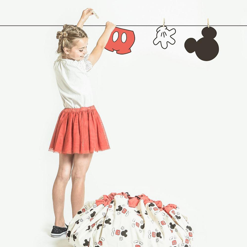 Sac de rangement jouets pour enfant fille