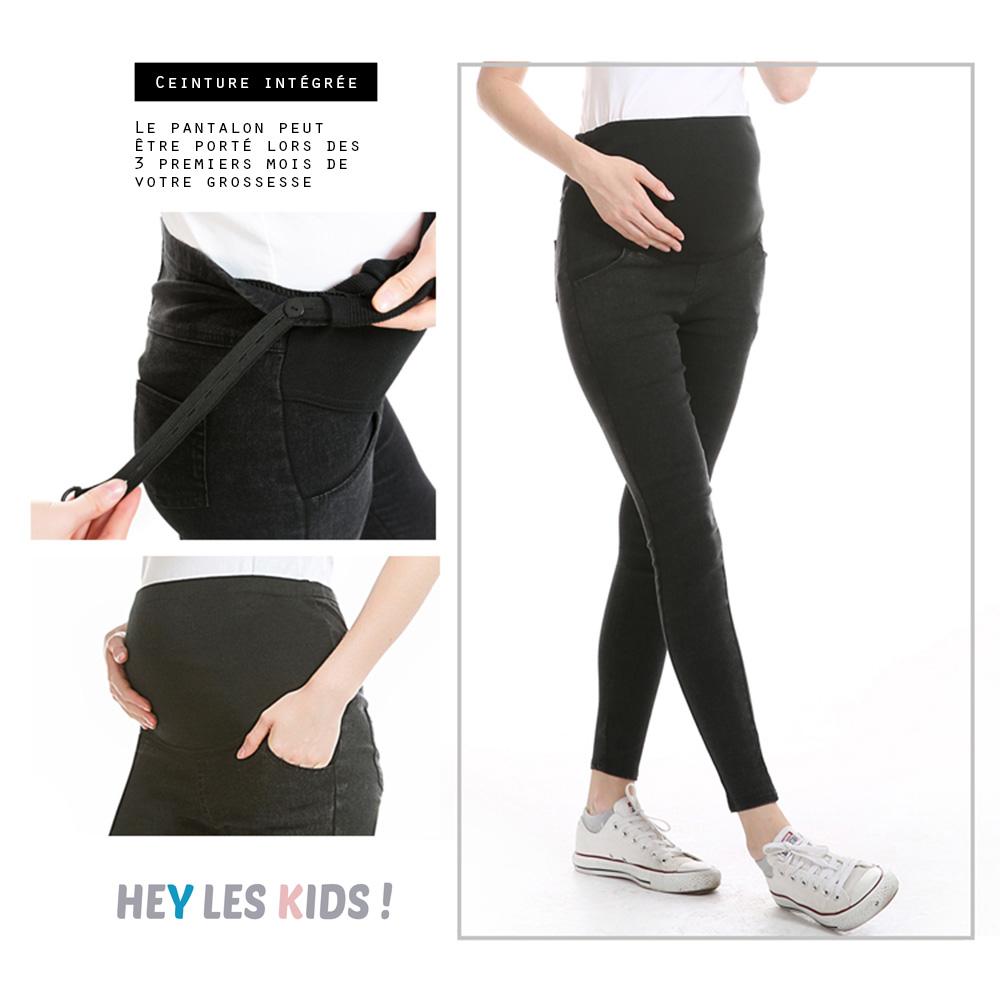 Pantalon femme enceinte Super stretch