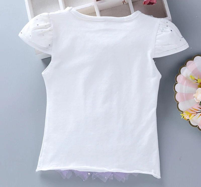 T-shirt blanc Princesse Sofia vue de dos