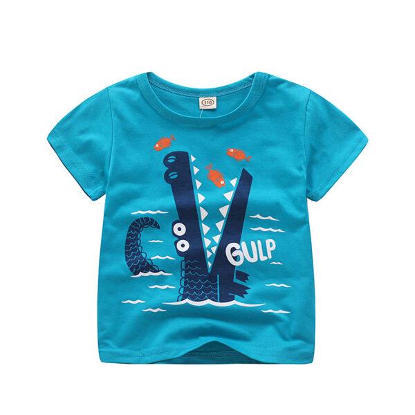 T-shirt Crocodile Gulp pour garçon