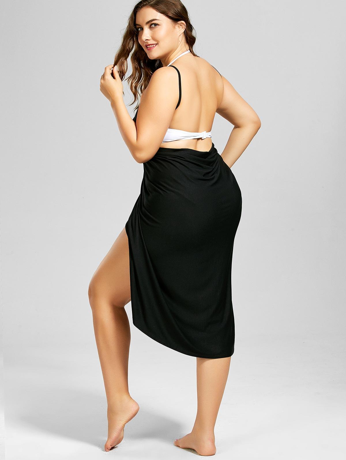 Robe noire décontractée grossesse