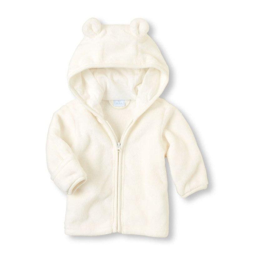 Veste bébé fille ou garçon blanche