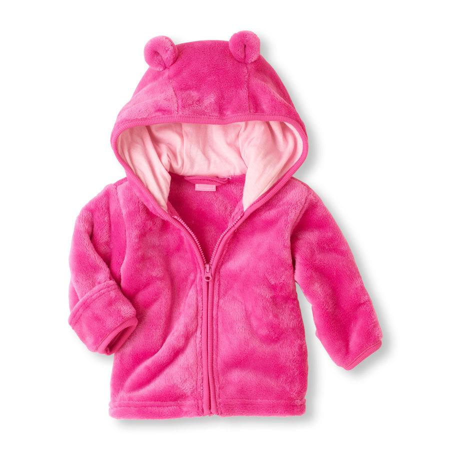 Veste bébé fille couleur rose