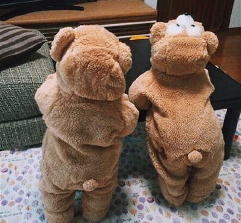 Costume ours brun pour bébé