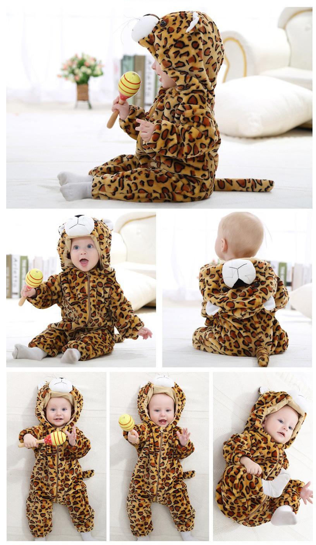 Déguisement bébé en léopard