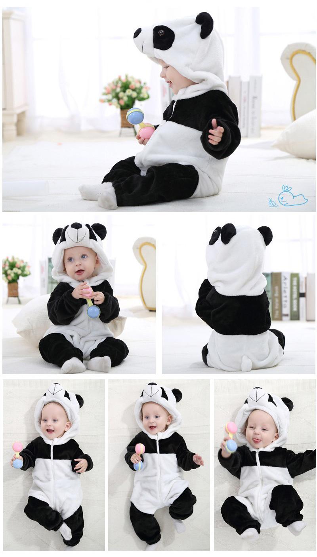 Déguisement bébé en panda