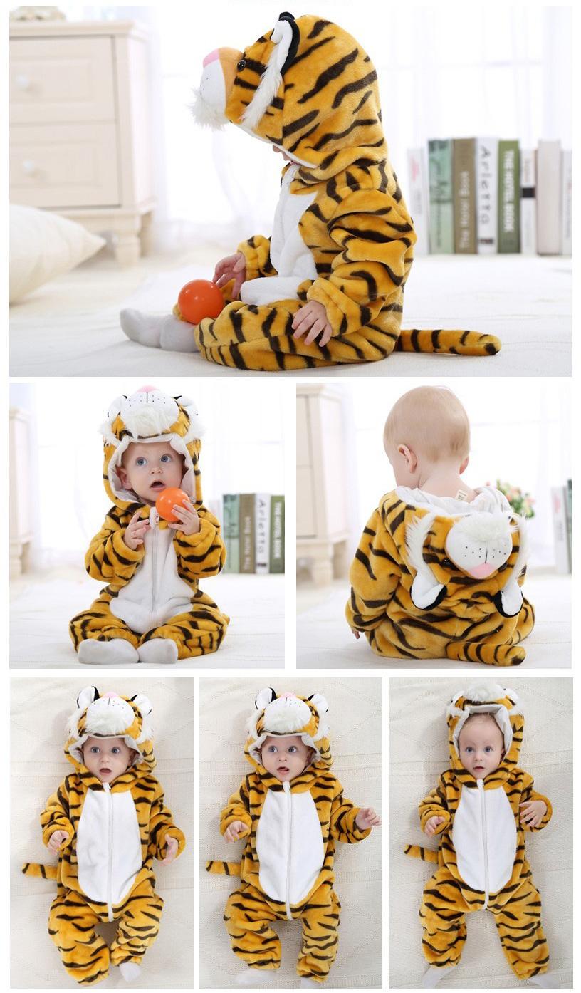 Déguisement bébé en tigre