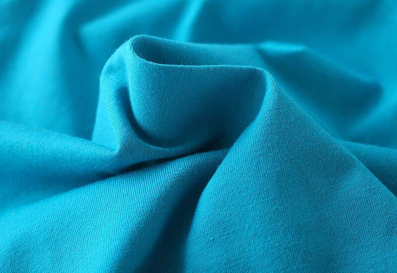 Tissu de qualité - t-shirt enfant garçon bleu