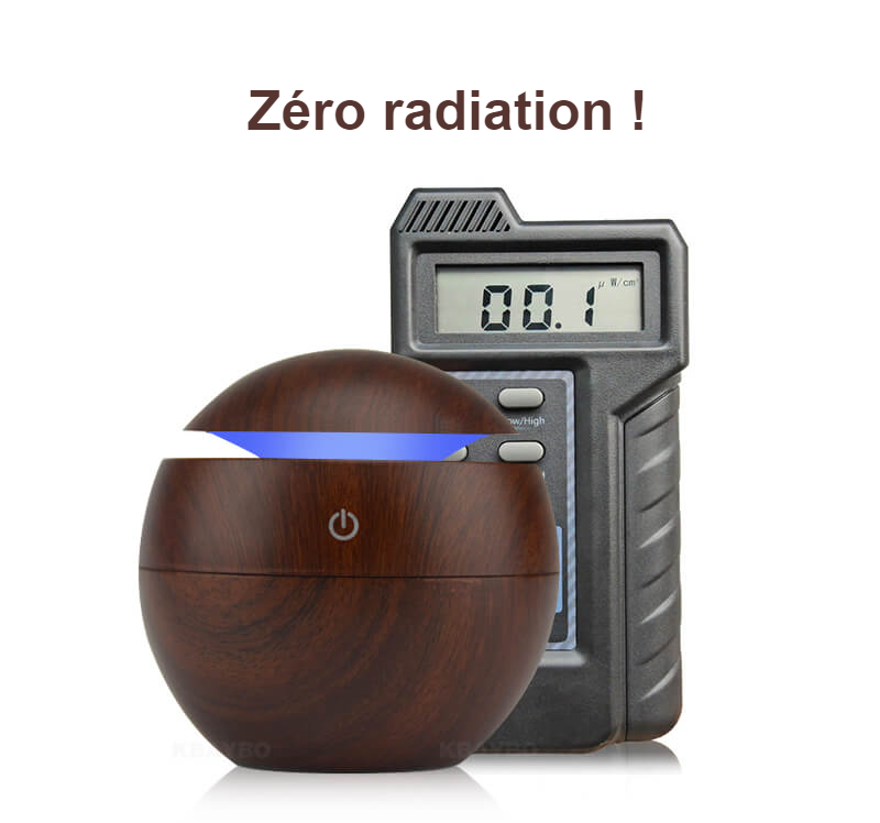 Humidificateur d'air sécurisé - Zéro radiation