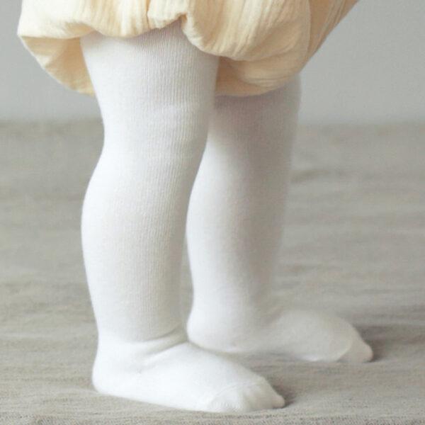 Collants bébé - Blanc