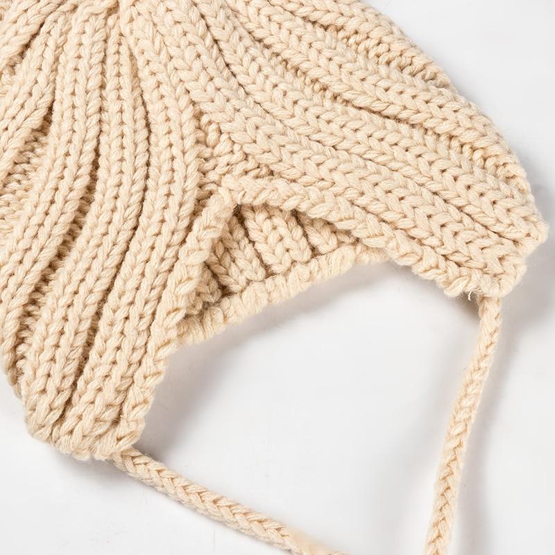 Détails du bonnet bébé acrylique pour l'hiver