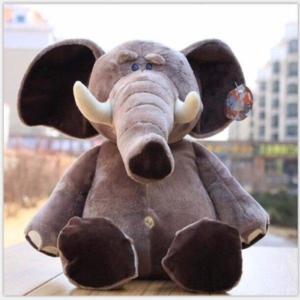 Peluche éléphant d'Afrique