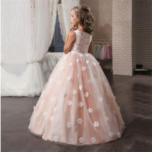 Robe de cérémonie rose très élégante - Demoiselle d'honneur