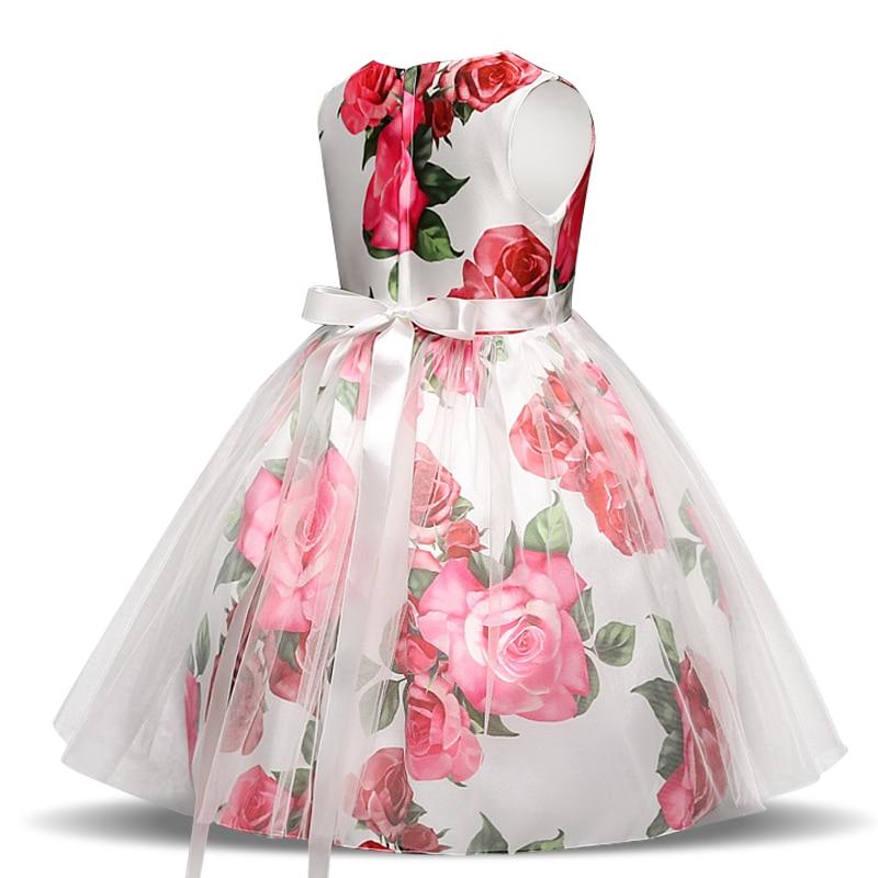 Robe de cérémonie pour fille avec fermeture éclair au dos