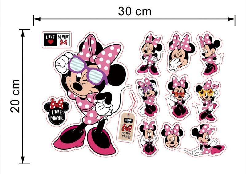 Stickers muraux Disney chambre enfant - Minnie