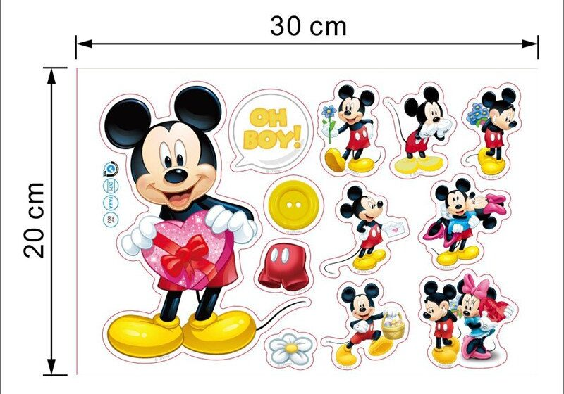 Stickers muraux Disney : Mickey Mouse