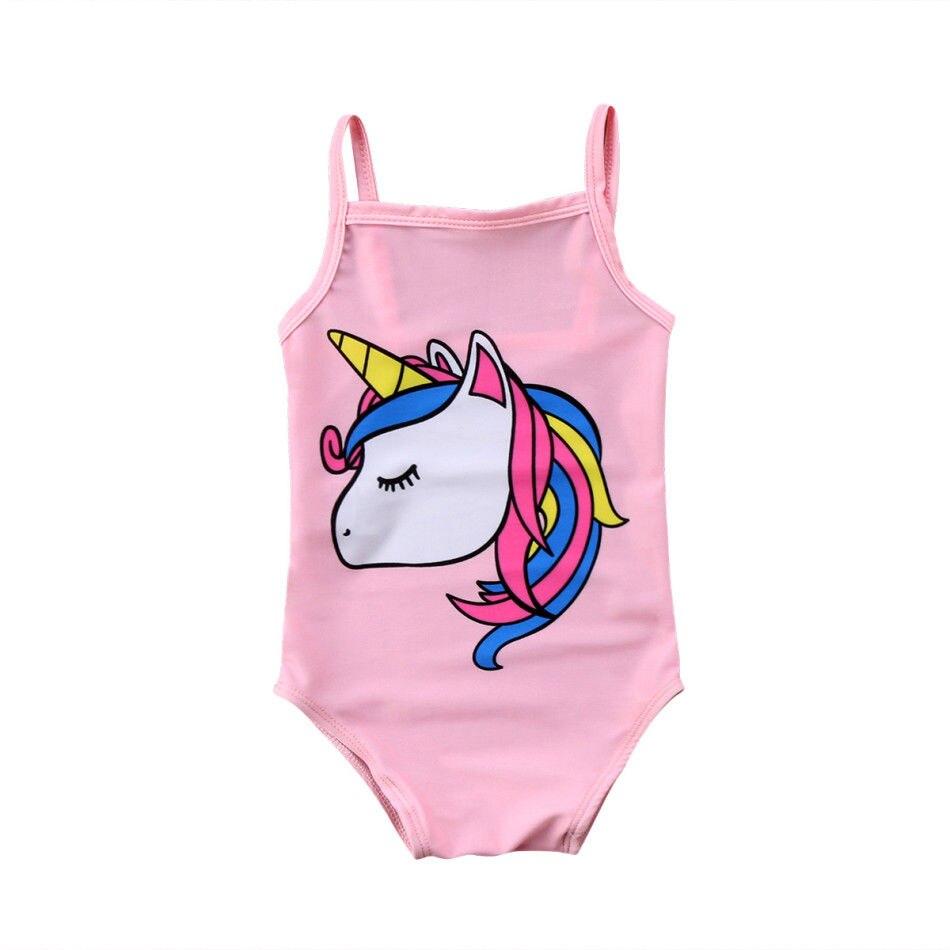 Conception innovante f03eb 05d35 Maillot de bain LICORNE pour bébé fille - Maillot 1 pièce 0 à 3 ans