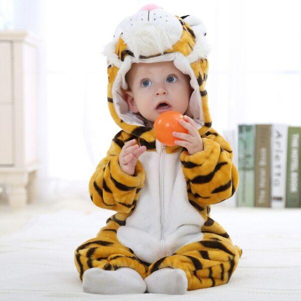 Déguisement de bébé en tigre