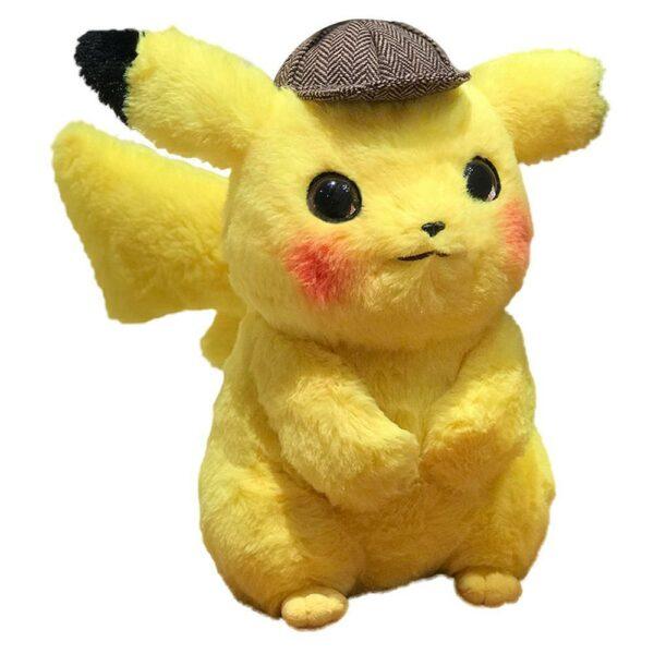 Peluche Pokémon Pikachu Détective
