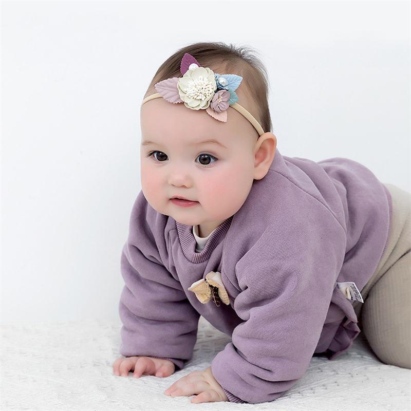 Bandeau floral bébé
