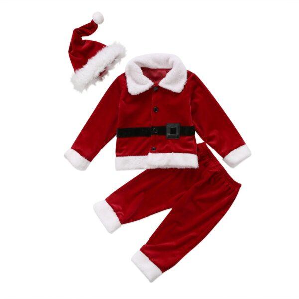 Joli déguisement Père Noël pour bébé garçon