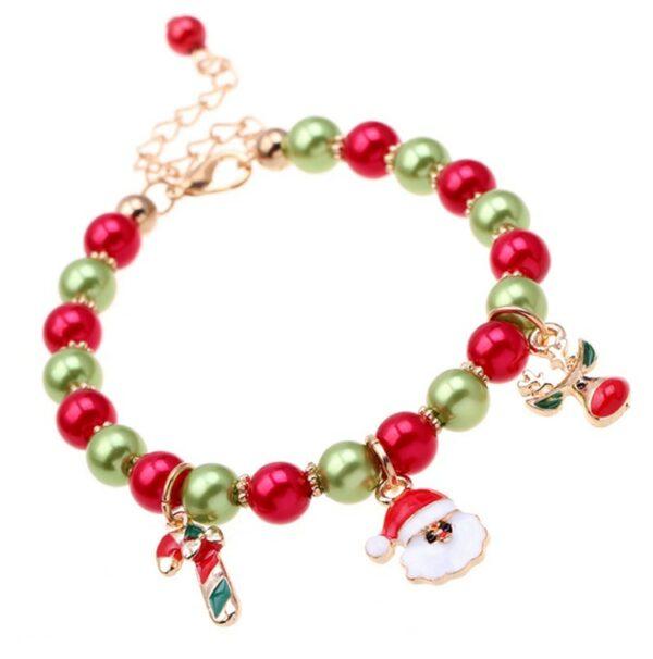 Bracelet père Noël pour fille