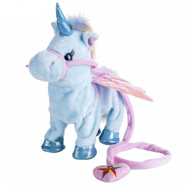 Licorne qui marche - Jouet peluche pour enfant