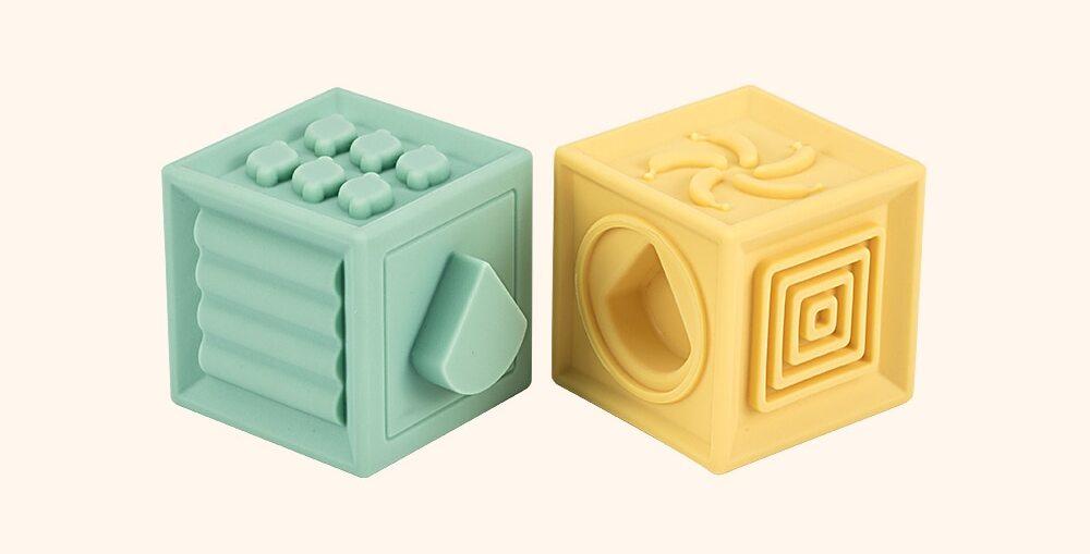 Cubes à empiler pour bébé