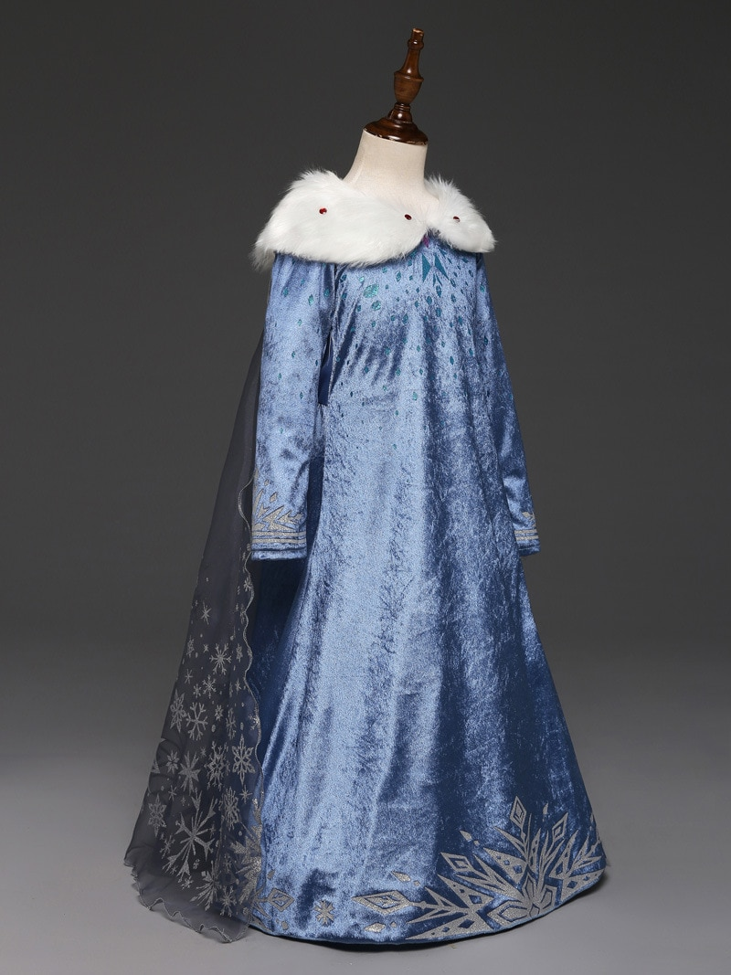 Robe Elsa Disney pour enfant