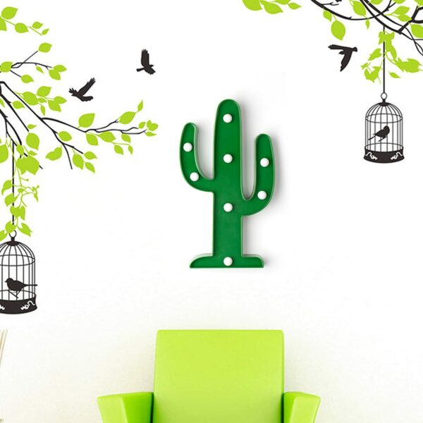 Lampe Cactus - Veilleuse enfant - Luminaire chambre