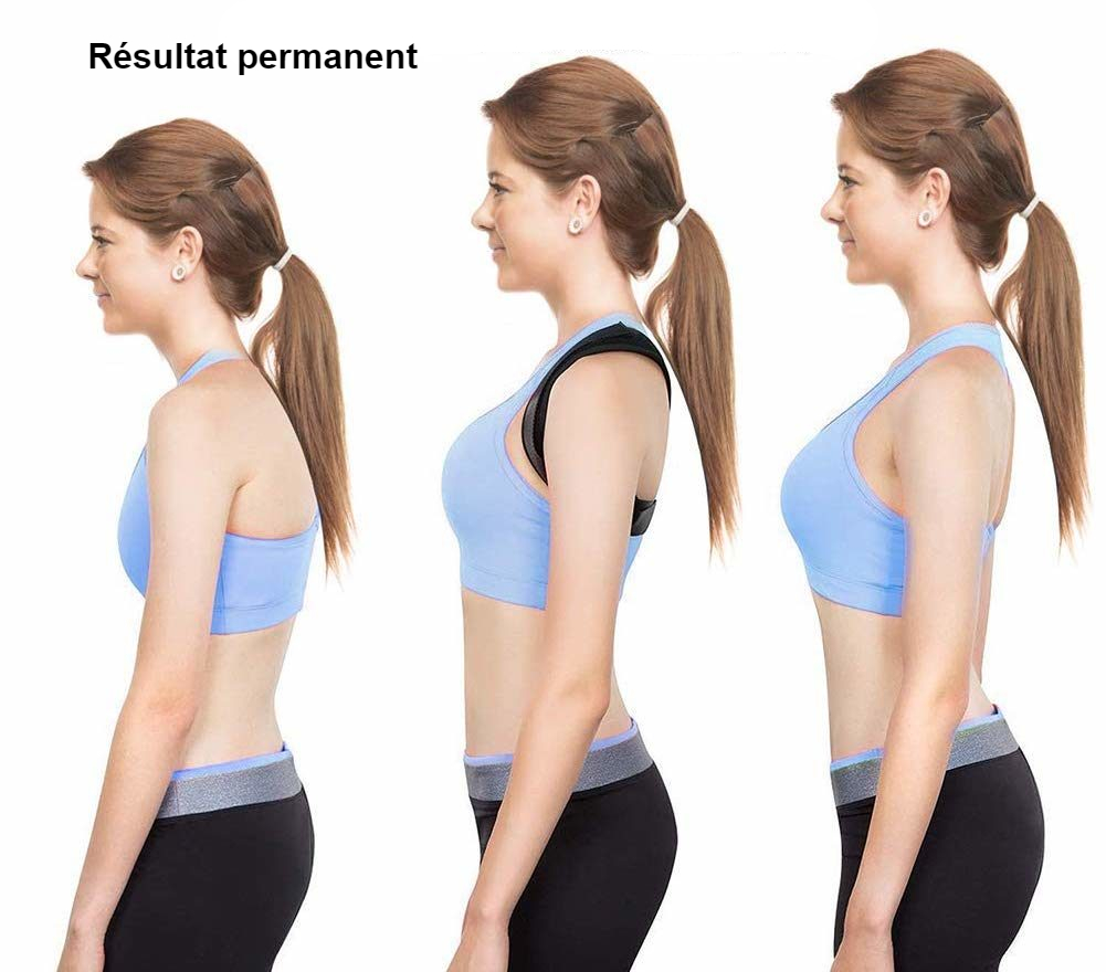Correcteur de posture réglable - Redresse dos